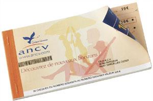 Exemple de chèque vacance ANCV